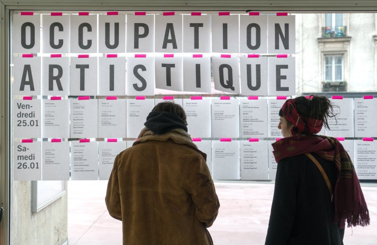 Occupation Artistique CN D © Marc Domage